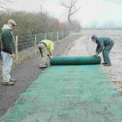Laying the car park